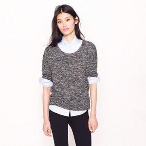 J. Crew • Jaspe Scoop Neck Popover Sweater